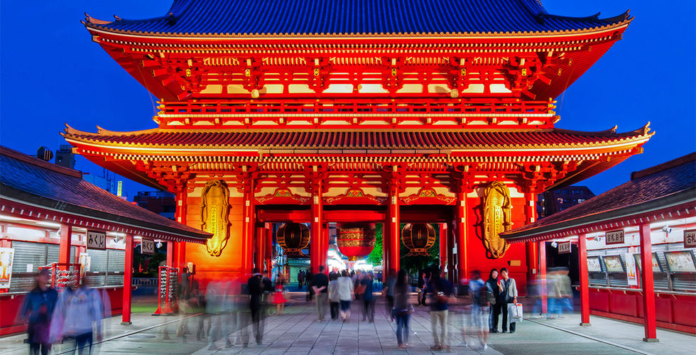 วัดเซนโซจิ หรือวัดอาซากุซะ หรือวัดโคมแดง – Sensoji Temple