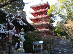 ท่องเที่ยวญี่ปุ่น วัดจิคุรินจิ (Chikurinji Temple)