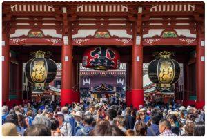 วัดเซนโซจิ หรือวัดอาซากุสะ (Sensoji Temple)
