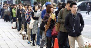 ญี่ปุ่นการเข้าคิวต่อแถวหน้าร้านอาหารที่ต่างชาติต้องทึ่ง